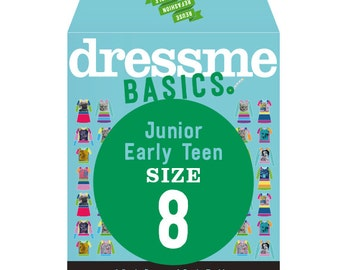 Dressme Basics - Pattern SIZE 8 - 1 Dress and 1 T-shirt - 1000s of possibilities