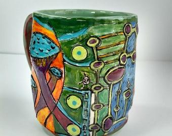 Find the alien mug