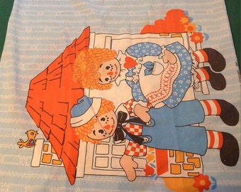 Ragged Ann and Andy Vintage Pillow Case