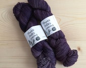 mosby  - aurai fingering weight merino yak nylon sock yarn, dyed to order