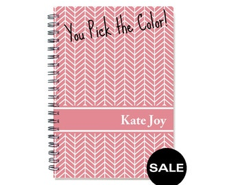 2017 weekly personalized planner with your name, academic planner, 12 month calendar, planner book, SKU: pli chevron