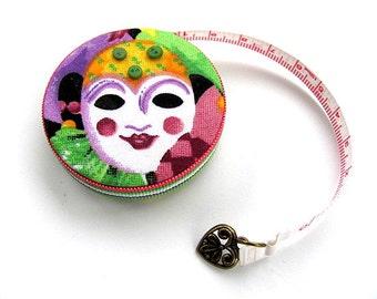 Masquerade Masks Retractable Pocket Tape Measure