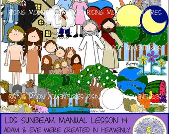 LDS Sunbeam Manual (Primary 1) Lesson 14: Adam and Eve Were Created in Heavenly Father's Image