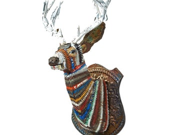 Faux Taxidermy Deer, Mule Deer Buck Wall Sculpture