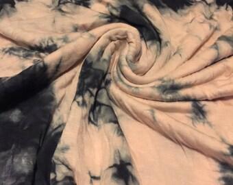 Stretch Jersey  Knit Tie Dye 1-1/2 Yards