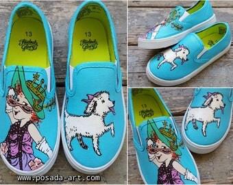 Fancy Nancy Kids Size 13 Shoes