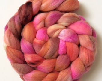 113g/3.9oz Handpainted merino/silk