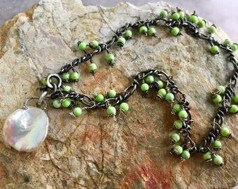Summer Fringe Bracelet