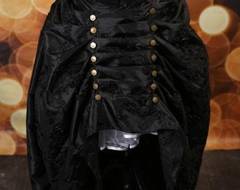 Black Rose Ribbon Cadence Skirt