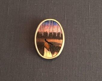My Lady Brooch/Shawl Pin Series... My Lady #6