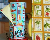 Unpaper Towels | Reusable Paper Towel Seed Packets Tree Saver Towel | Kitchen Towel | Snapping Cloth Paperless Towel