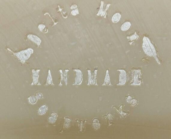 Handmade Almond Oatmeal and Red Clover Tea Goat Milk Soaps, honey oatmeal soap, exfoliating soap,  sensitive skin, facial soap, cold process