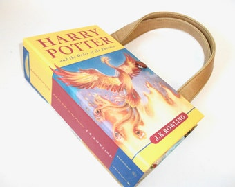 Harry Potter Book Purse Order of Phoenix, Handbag, Book Clutch