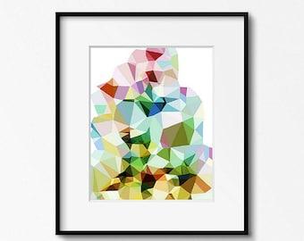 Geometric Art Print, Large Abstract Art, Abstract Art Print, Modern Wall Art, Geometric Wall Art, Abstract Wall Art, Geometric Print