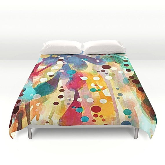rainbow bedding twin xl dorm decor duvet cover twin. Black Bedroom Furniture Sets. Home Design Ideas
