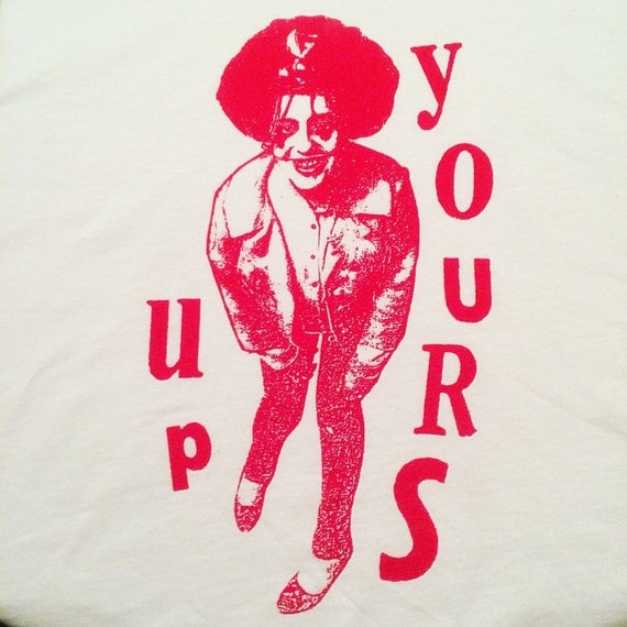 X-Ray Spex Poly Styrene shirt