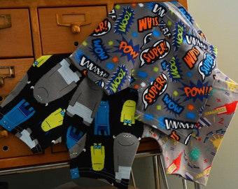 Custom Trio - kids Boxer Briefs, underwear (made to order)