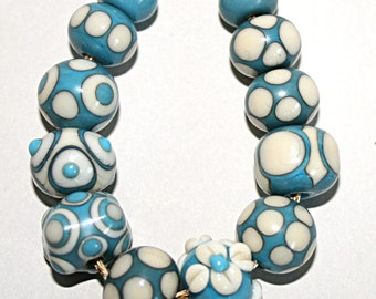 Lampwork  Art Beads by Jeanniesbeads #1679