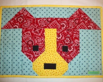 Puppy Placemats Red Rover