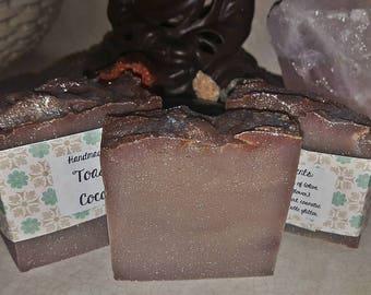 Toasted Coconut handmade soap