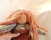 "Waldorf doll- 18inc\ 45cm-  בובה ע""פ חינוך וולדורף אנתרופוסופיה"