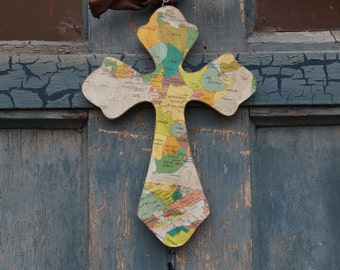 Compassion Cross - Africa - custom cross -adoption - missionary - READY TO  SHIP - In Time For Christmas-  Order By December 19th