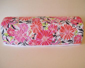 Cricut Explore/ Air / Air 2 / Expression / Scan n Cut Cover / Cricut Cutter Protector / Quilted Dust Cover / Zinnia Pop / Pink Orange Floral