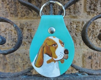 Key Fob with Beagle