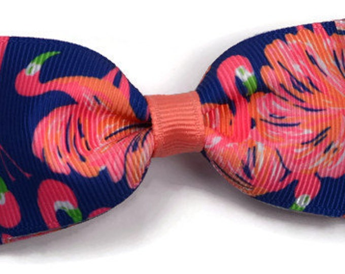 "Gimme Some Leg ~ 3.5"" Hairbow ~ Lilly Inspired ~ Small Hair Bow ~ Girls Barrette ~ Toddler Bow ~ Hair Clip ~ Girls Hair Bow"