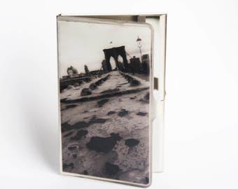 CARD CASE - Brooklyn Bridge Card Case - Photo Card Case - Graduation Gift - Fathers Day Gift