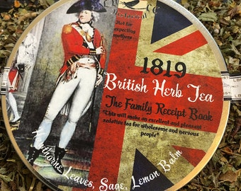 1819 Recipe: British Herb Tea For Anxiety