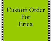 Custom Order Toy Box for Erica