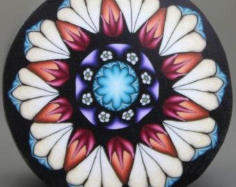 Medium Polymer Clay Flower Cane -'Fresh Start' (31E)
