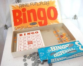 Vintage Bingo Game, Bingo Cards, Family Game Night, Childhood Memories, Whitman, Craftin