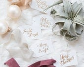 Holiday Gift Tag Set of 10 Mixed Designs