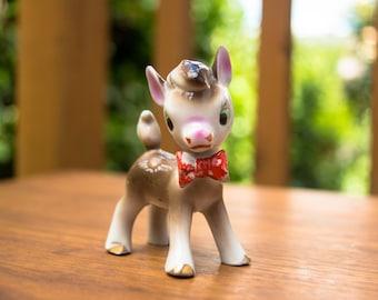 Vintage Ceramic Donkey Figurine - Japan