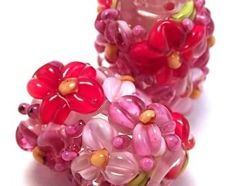 Summer Roses Crystal Pink Sparkle Barrels