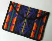 CUSTOM ORDER for Sharman Laptop Cover Sleeve Case Padded Colorful Blanket Wool from Pendleton Oregon Tribal Inspired