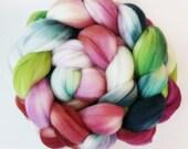"Superwash Merino Wool Spinning Fiber, 4 oz, ""Blast"""