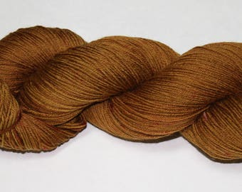 Bark Hand Dyed Sock Yarn