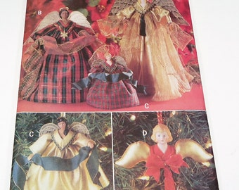 Butterick Decorative Angels Pattern 5114 Christmas Holiday