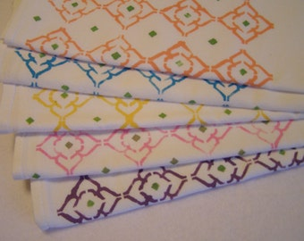 Moroccan Kitchen Towels Set of 5