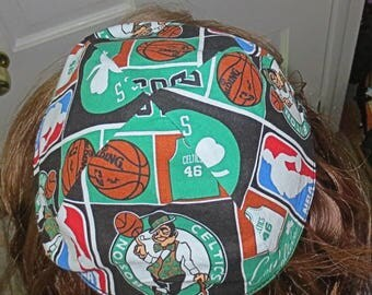 NBA Boston Celtics yarmulke or kippah basketball yarmulke  professional sports yamaka great gift for him