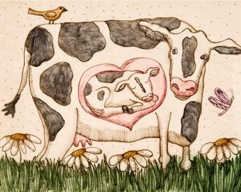 Daisy The Cow Etsy