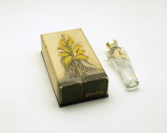 Vintage Perfume Bottle Rare Ode Guerlain Paris Original Box