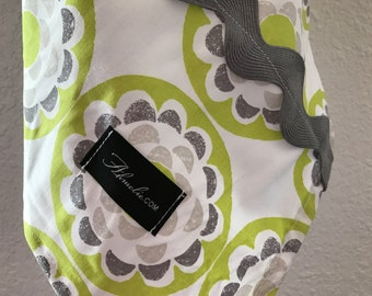 Baby Blanket Swaddler, Ty Pennington Blossom Light--LARGE