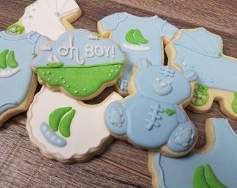 Baby Shower Sugar Cookies- 1 Dozen