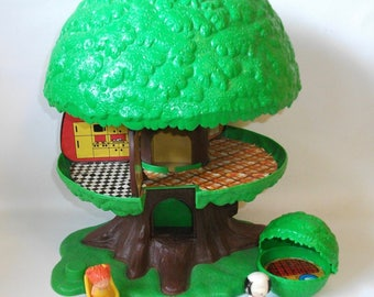 Vintage Kenner Family Tree House Treehouse Tree Tots
