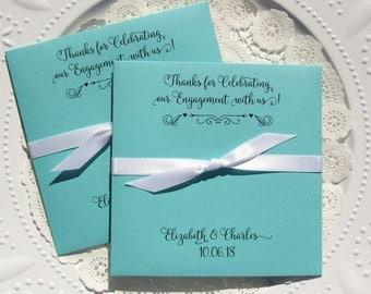 Engagement Favors - Wedding Engagement Favor - Engagement Party Favors - Wedding Engagement - Engagement Party