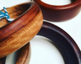 Recycled wooden Bangle Australian desert timber